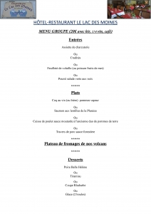 Exemple menu groupe